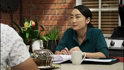 David Tanaka, Leila Potts in Neighbours Episode 8379