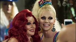 Sheila Canning, Courtney Act in Neighbours Episode 8379