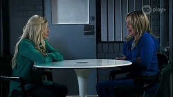 Dee Bliss, Heather Schilling in Neighbours Episode 8380