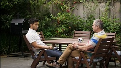 David Tanaka, Karl Kennedy in Neighbours Episode 8380