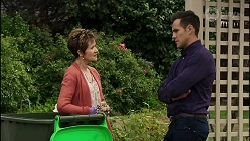Susan Kennedy, Aaron Brennan in Neighbours Episode 8380