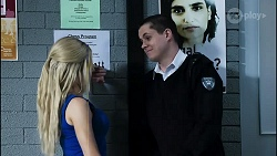 Andrea Somers, Owen Campbell in Neighbours Episode 8380