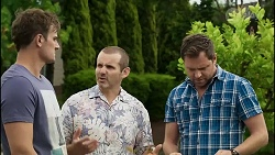 Kyle Canning, Toadie Rebecchi, Shane Rebecchi in Neighbours Episode 8381