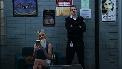 Andrea Somers, Owen Campbell in Neighbours Episode 8381