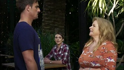Kyle Canning, Jamie Spiteri, Sheila Canning in Neighbours Episode 8382