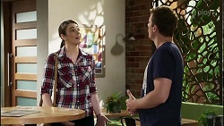 Jamie Spiteri, Kyle Canning in Neighbours Episode 8382