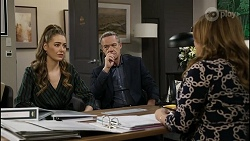 Chloe Brennan, Paul Robinson, Terese Willis in Neighbours Episode 8383