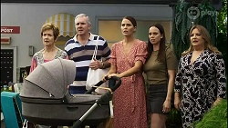 Susan Kennedy, Karl Kennedy, Elly Conway, Bea Nilsson, Terese Willis in Neighbours Episode 8383