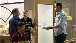 Grant Hargreaves, Pierce Greyson, Toadie Rebecchi, Shane Rebecchi in Neighbours Episode 8384