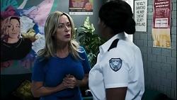 Heather Schilling, Bonnie Louden in Neighbours Episode 8385