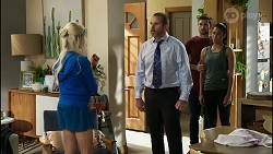 Dee Bliss, Toadie Rebecchi, Ned Willis, Yashvi Rebecchi in Neighbours Episode 8385
