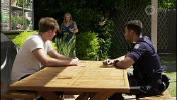 Kyle Canning, Sheila Canning, Levi Canning in Neighbours Episode 8386
