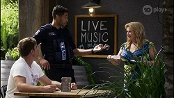Kyle Canning, Levi Canning, Sheila Canning in Neighbours Episode 8386