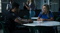 Levi Canning, Heather Schilling in Neighbours Episode 8386