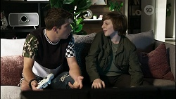 Hendrix Greyson, Emmett Donaldson in Neighbours Episode 8387