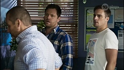 Toadie Rebecchi, Shane Rebecchi, Kyle Canning in Neighbours Episode 8387