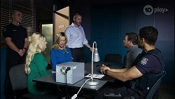 Dee Bliss, Heather Schilling, Toadie Rebecchi, Dax Braddock, Levi Canning in Neighbours Episode 8387