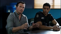 Dax Braddock, Levi Canning in Neighbours Episode 8387