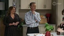Terese Willis, Paul Robinson, Emmett Donaldson in Neighbours Episode 8387