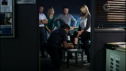 Toadie Rebecchi, Dee Bliss, Levi Canning, Dax Braddock, Heather Schilling in Neighbours Episode 8387