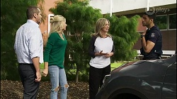 Toadie Rebecchi, Dee Bliss, Heather Schilling, Levi Canning in Neighbours Episode 8387