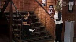Hugo Somers, Andrea Somers, Heather Schilling in Neighbours Episode 8387