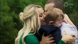 Dee Bliss, Toadie Rebecchi, Hugo Somers in Neighbours Episode 8387