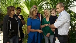Levi Canning, Heather Schilling, Dee Bliss, Hugo Somers, Toadie Rebecchi in Neighbours Episode 8387