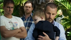Kyle Canning, Shane Rebecchi, Hugo Somers, Toadie Rebecchi in Neighbours Episode 8387
