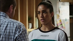 Toadie Rebecchi, Yashvi Rebecchi in Neighbours Episode 8388