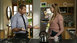 Toadie Rebecchi, Mackenzie Hargreaves in Neighbours Episode 8388