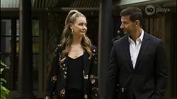 Chloe Brennan, Pierce Greyson in Neighbours Episode 8389
