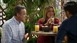 Paul Robinson, Terese Willis, David Tanaka in Neighbours Episode 8389