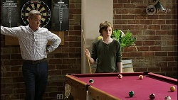 Paul Robinson, Emmett Donaldson in Neighbours Episode 8389