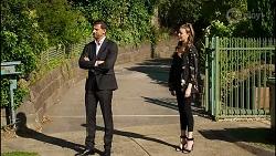 Pierce Greyson, Chloe Brennan in Neighbours Episode 8390