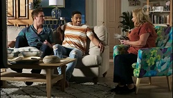 Kyle Canning, Levi Canning, Sheila Canning in Neighbours Episode 8390