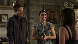Shaun Watkins, Elly Conway, Bea Nilsson in Neighbours Episode 8391