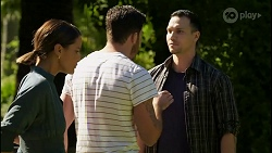 Elly Conway, Shaun Watkins, Kasper Perry in Neighbours Episode 8391