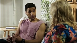Levi Canning, Sheila Canning in Neighbours Episode 8391