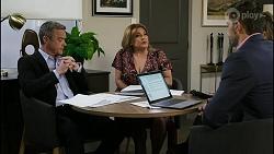 Paul Robinson, Terese Willis, Pierce Greyson, Chloe Brennan in Neighbours Episode 8393