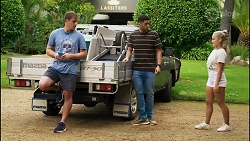 Kyle Canning, Levi Canning, Roxy Willis in Neighbours Episode 8394
