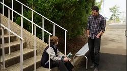Emmett Donaldson, Shaun Watkins in Neighbours Episode 8394