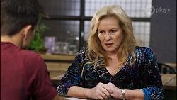 Aaron Brennan, Sheila Canning in Neighbours Episode 8394