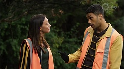 Bea Nilsson, Levi Canning in Neighbours Episode 8394