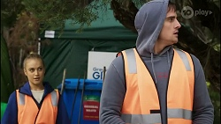 Roxy Willis, Kyle Canning in Neighbours Episode 8394
