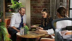 Toadie Rebecchi, Chloe Brennan, Elly Conway in Neighbours Episode 8394