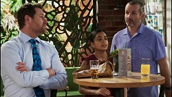 Shane Rebecchi, Kirsha Rebecchi, Toadie Rebecchi in Neighbours Episode 8395