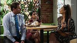 Shane Rebecchi, Kirsha Rebecchi, Dipi Rebecchi in Neighbours Episode 8395