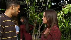 Levi Canning, Harlow Robinson, Ned Willis, Yashvi Rebecchi, Bea Nilsson in Neighbours Episode 8395