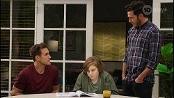 Aaron Brennan, Emmett Donaldson, Shaun Watkins in Neighbours Episode 8396